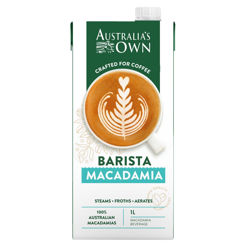 Australia's Own Macadamia Barista Milk, 1 Litre
