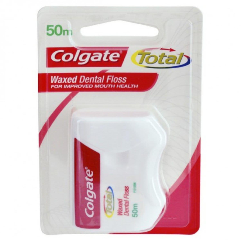 Colgate Dental Ribbon Waxed 50m, 1 Each