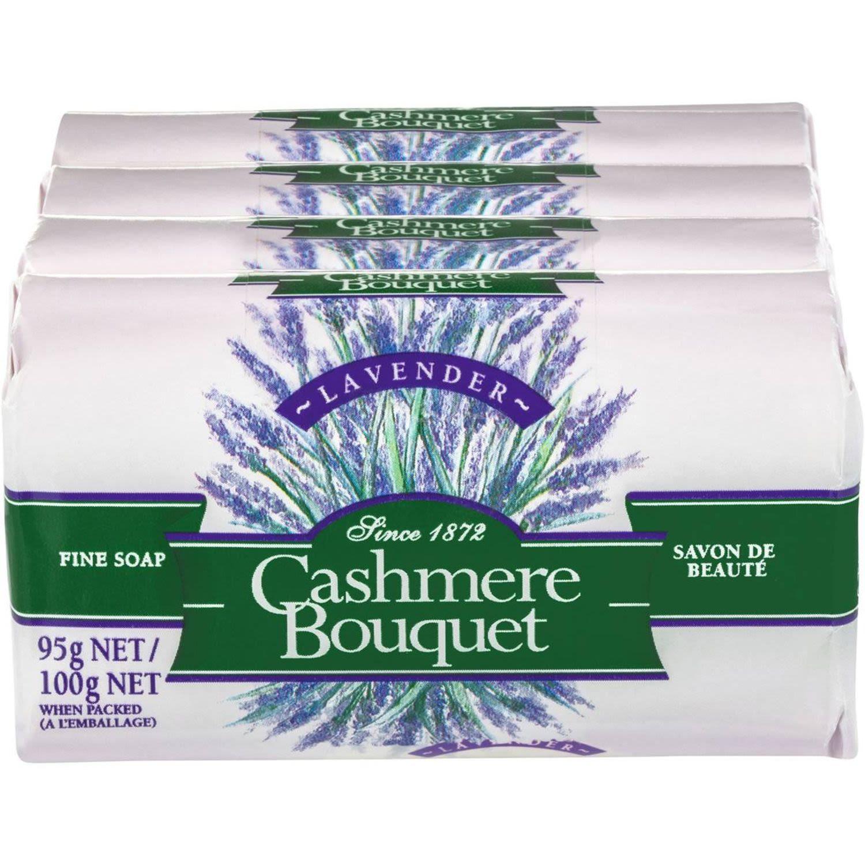 Cashmere Bouquet Bar Soap Lavender, 4 Each