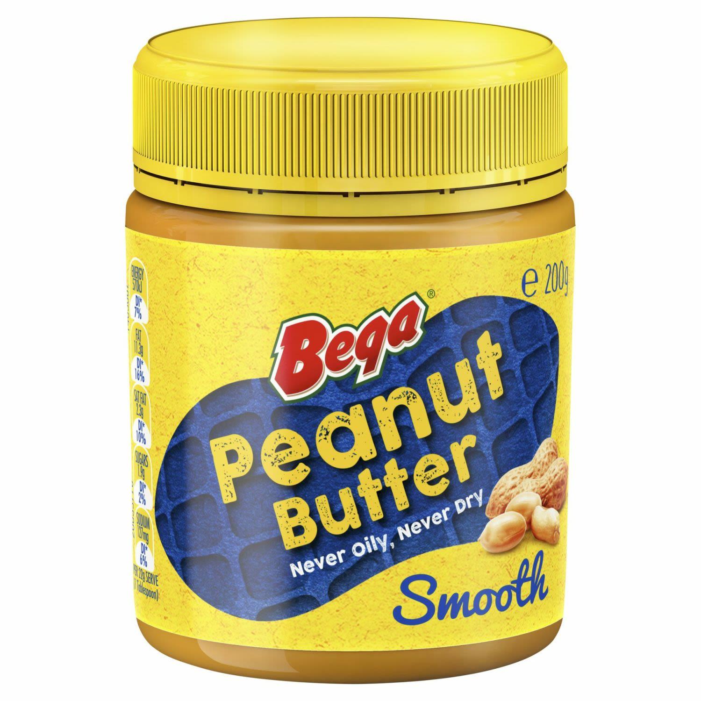 Bega Smooth Peanut Butter, 200 Gram