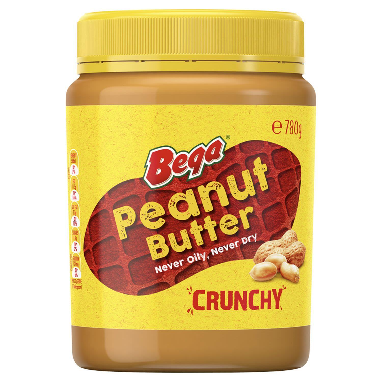 Bega Peanut Butter Crunchy, 780 Gram