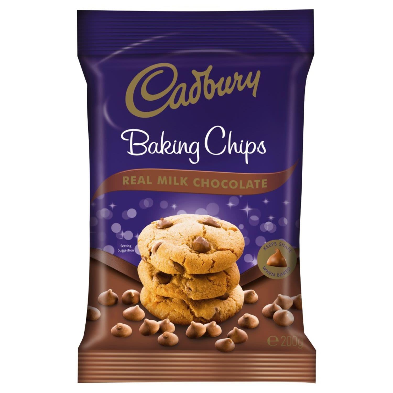 Cadbury Baking Milk Chocolate Chips, 200 Gram