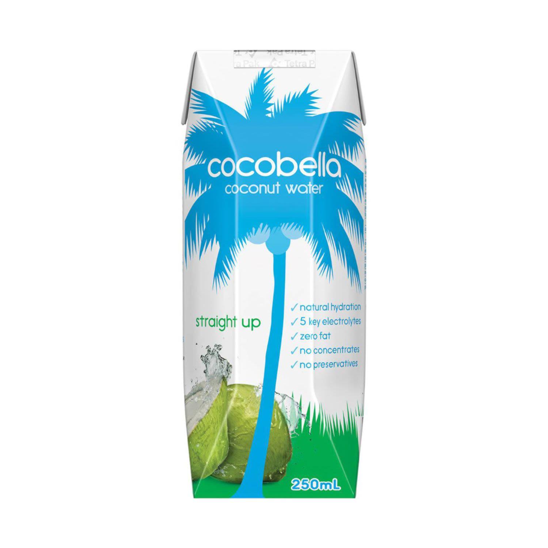 Cocobella Straight Up Coconut Water, 250 Millilitre