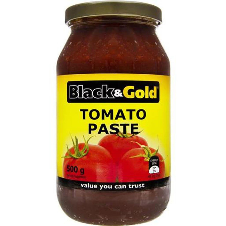 Black & Gold Tomato Paste, 500 Gram