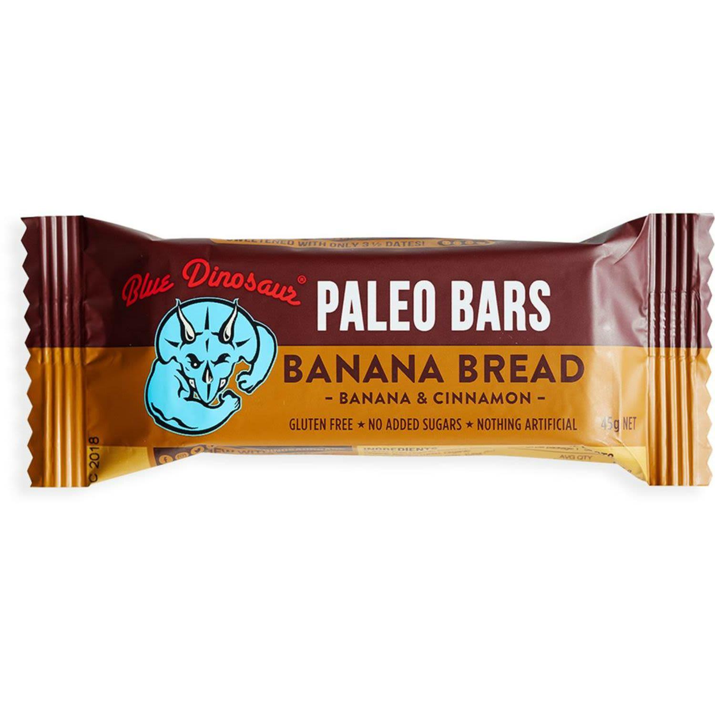 Blue Dinosaur Paleo Bars Banana Bread, 45 Gram