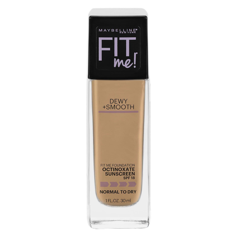 Maybelline Fit Me Dewy & Smooth Luminous Liquid Foundation Medium Buff 225, 30 Millilitre