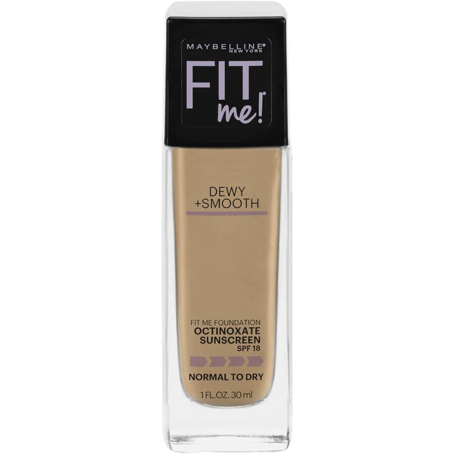 Maybelline Fit Me Dewy & Smooth Liquid Foundation - Sun Beige, 30 Millilitre