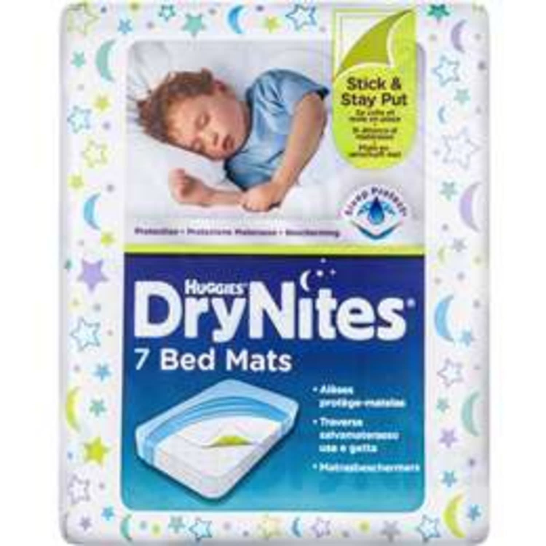 Huggies Drynites Bed Mats, 7 Each