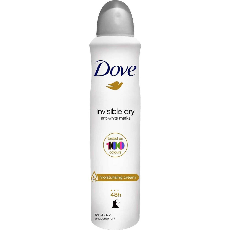 Dove Go Fresh Antiperspirant Deodorant Invisible Dry, 250 Millilitre