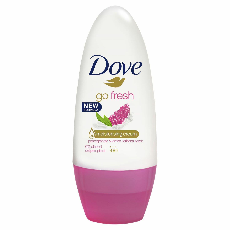 Dove Go Fresh Antiperspirant Roll On Deodorant Go Fresh Pomegranate, 50 Millilitre
