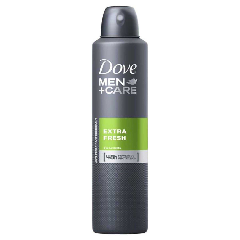 Dove Men Deodorant Aerosol Extra Fresh, 254 Millilitre