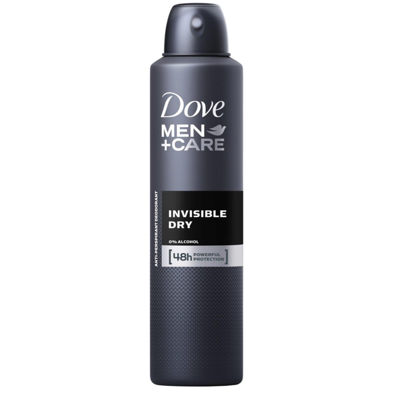 Dove Men Antiperspirant Aerosol Deodorant Invisible Dry, 254 Millilitre