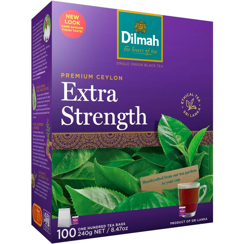 Dilmah Extra Strength Tea Bags, 100 Each