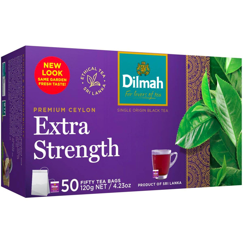 Dilmah Extra Strength Tea Bags, 50 Each