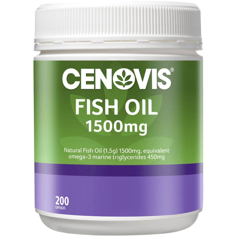Cenovis Fish Oil 1500mg, 200 Each