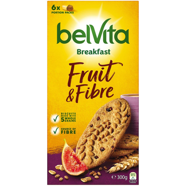 Belvita Breakfast Fruit & Fibre, 300 Gram