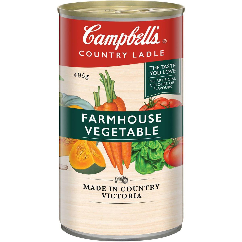 Campbell's Soup Country Ladle Farmhouse Vegetables, 495 Gram