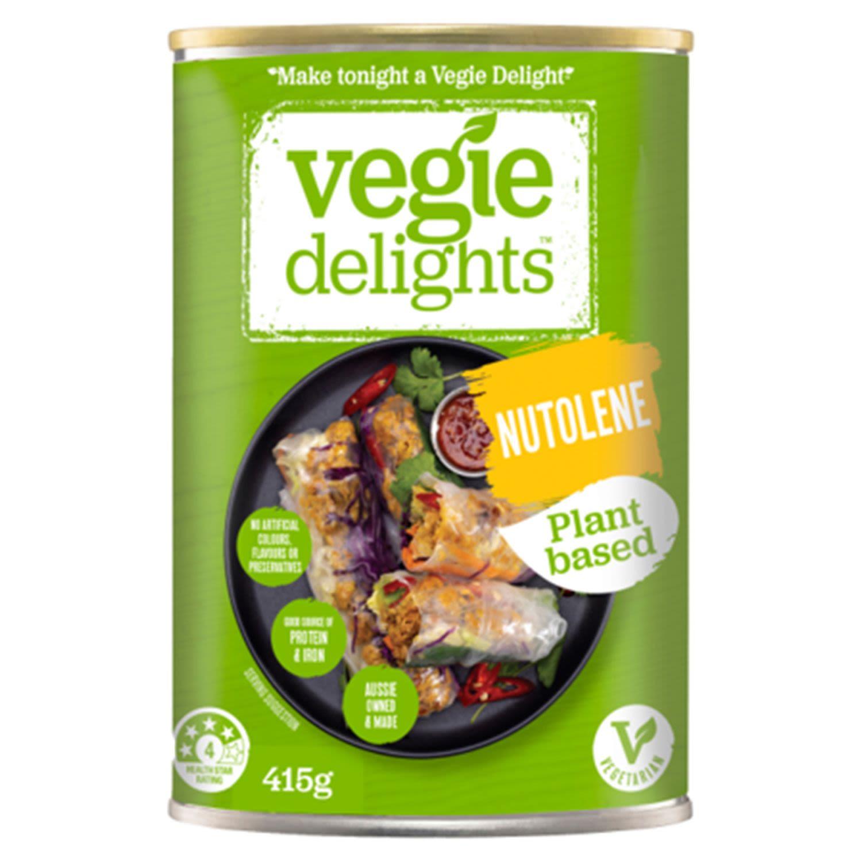 Vegie Delights Gluten Free Nutolene, 415 Gram