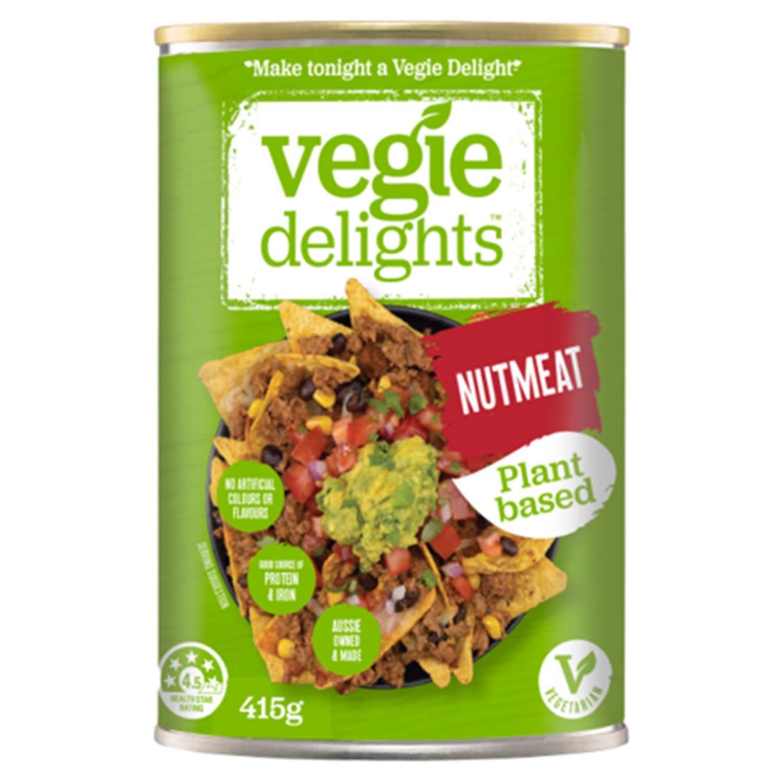 Vegie Delights Nutmeat, 415 Gram
