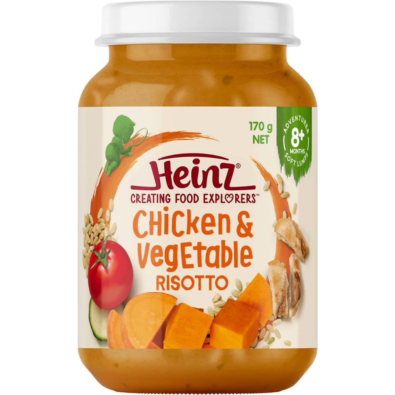Heinz Chicken & Vegetable Risotto, 170 Gram