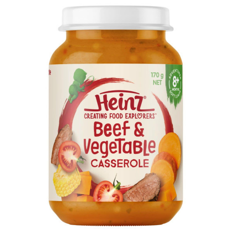 Heinz Beef & Vegetable Casserole 8 Months, 170 Gram