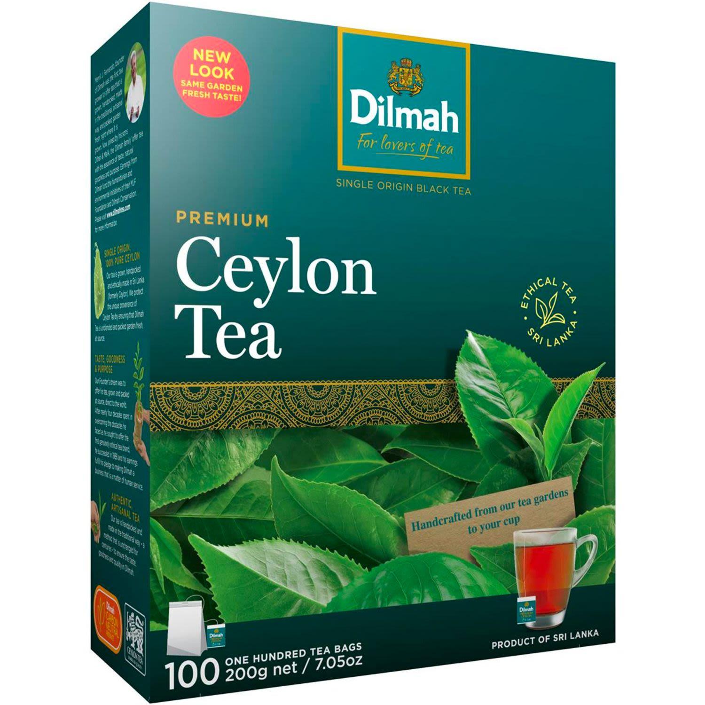 Dilmah Premium Tea Bags, 100 Each