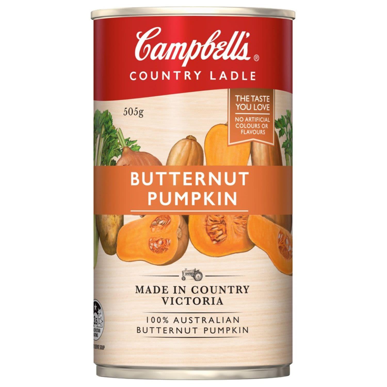 Campbell's Country Ladle Soup Butternut Pumpkin, 505 Gram