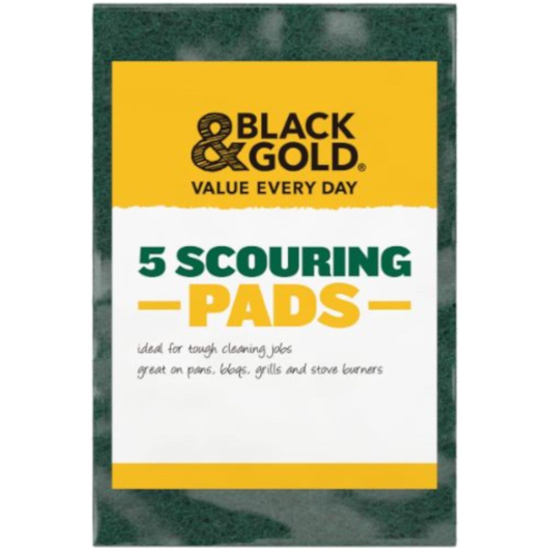 Black & Gold Scourer, 5 Each