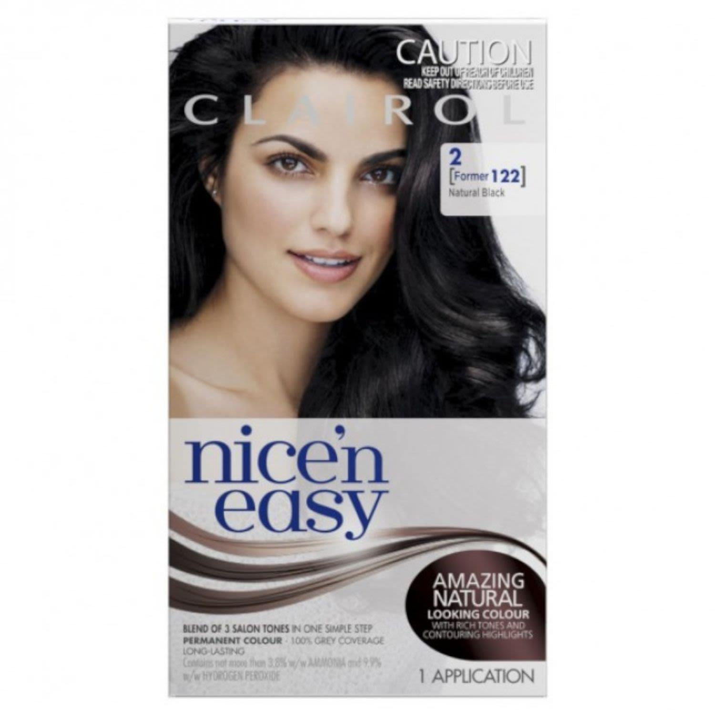 Clairol Nice N Easy Natural Black 2, 1 Each