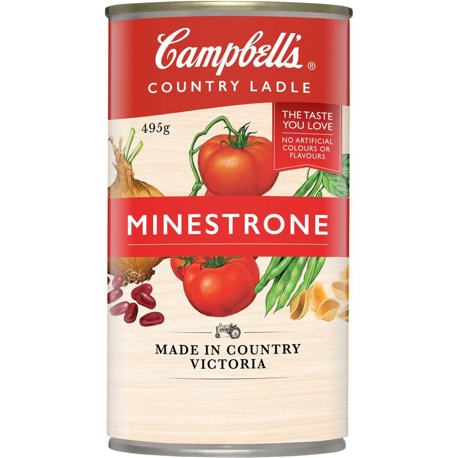 Campbell's Country Ladle Soup Minestrone, 495 Gram