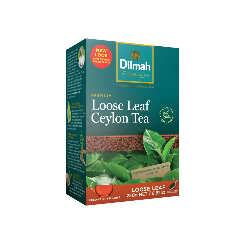 Dilmah Premium Quality Loose Leaf Tea, 250 Gram