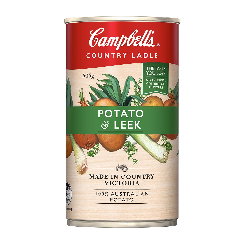 Campbell's Soup Country Ladle Potato & Leek, 505 Gram