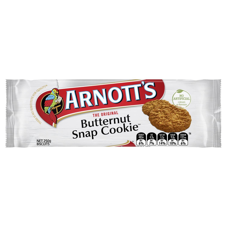 Arnott's Butternut Snap Cookie, 250 Gram