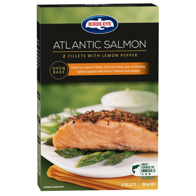 Birds Eye Salmon Provencale Lemon Pepper, 260 Gram