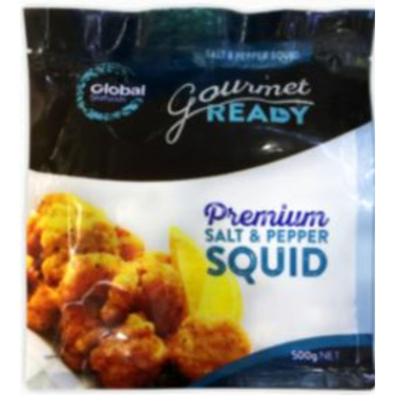 Global Salt & Pepper Squid, 500 Gram