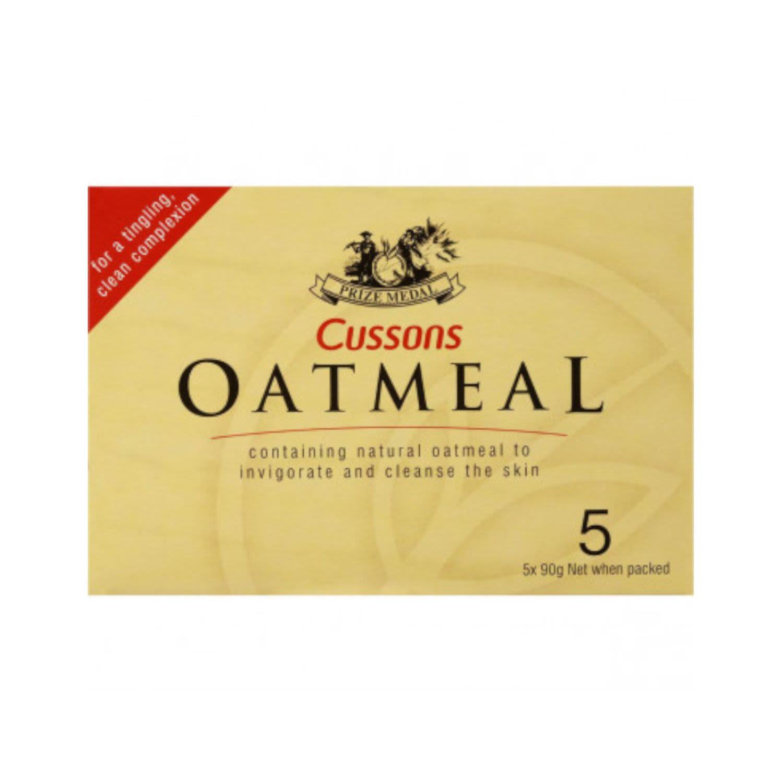 Cussons Oatmeal Soap, 5 Each