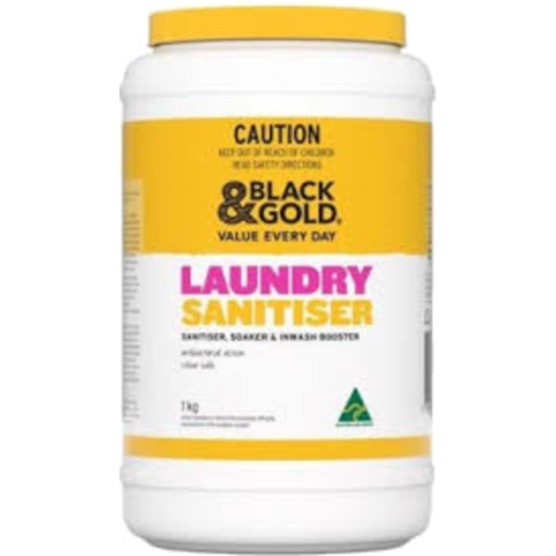 Black & Gold Laundry Sanitiser, 1 Kilogram