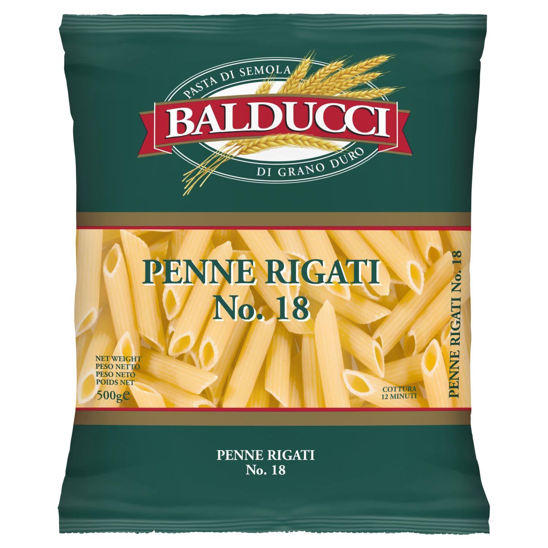 Balducci Penne Rigati No. 18, 500 Gram