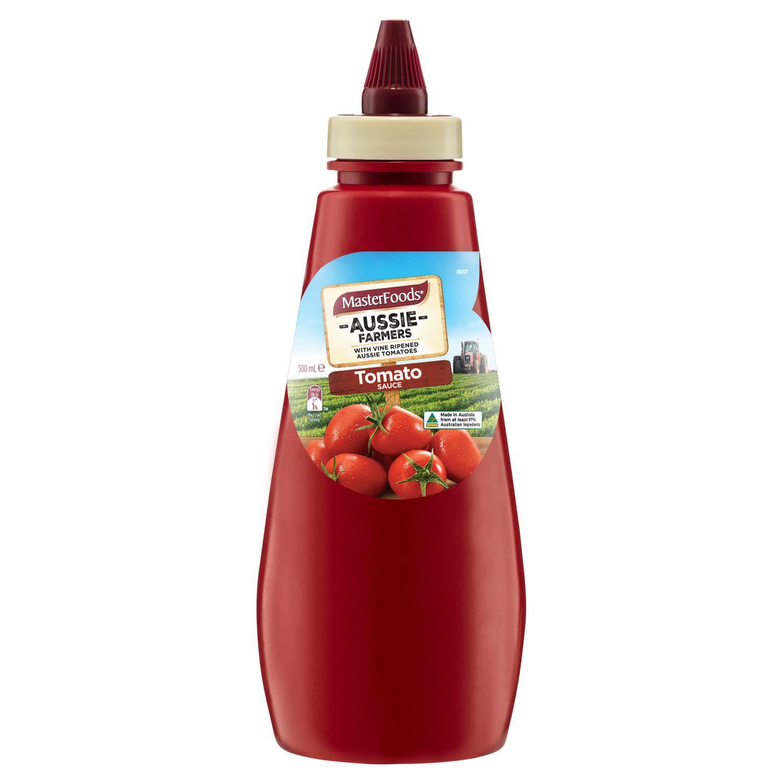 MasterFoods™ Aussie Farmers Tomato Sauce, 500 Millilitre