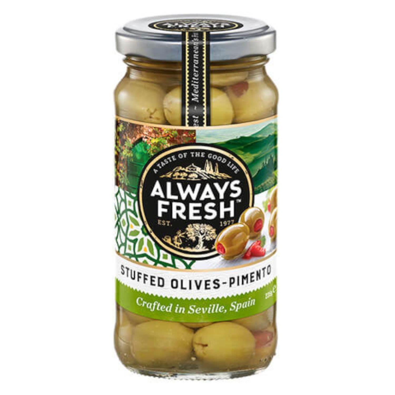 Always Fresh Olive Spanish Stuffed Pimento, 235 Gram