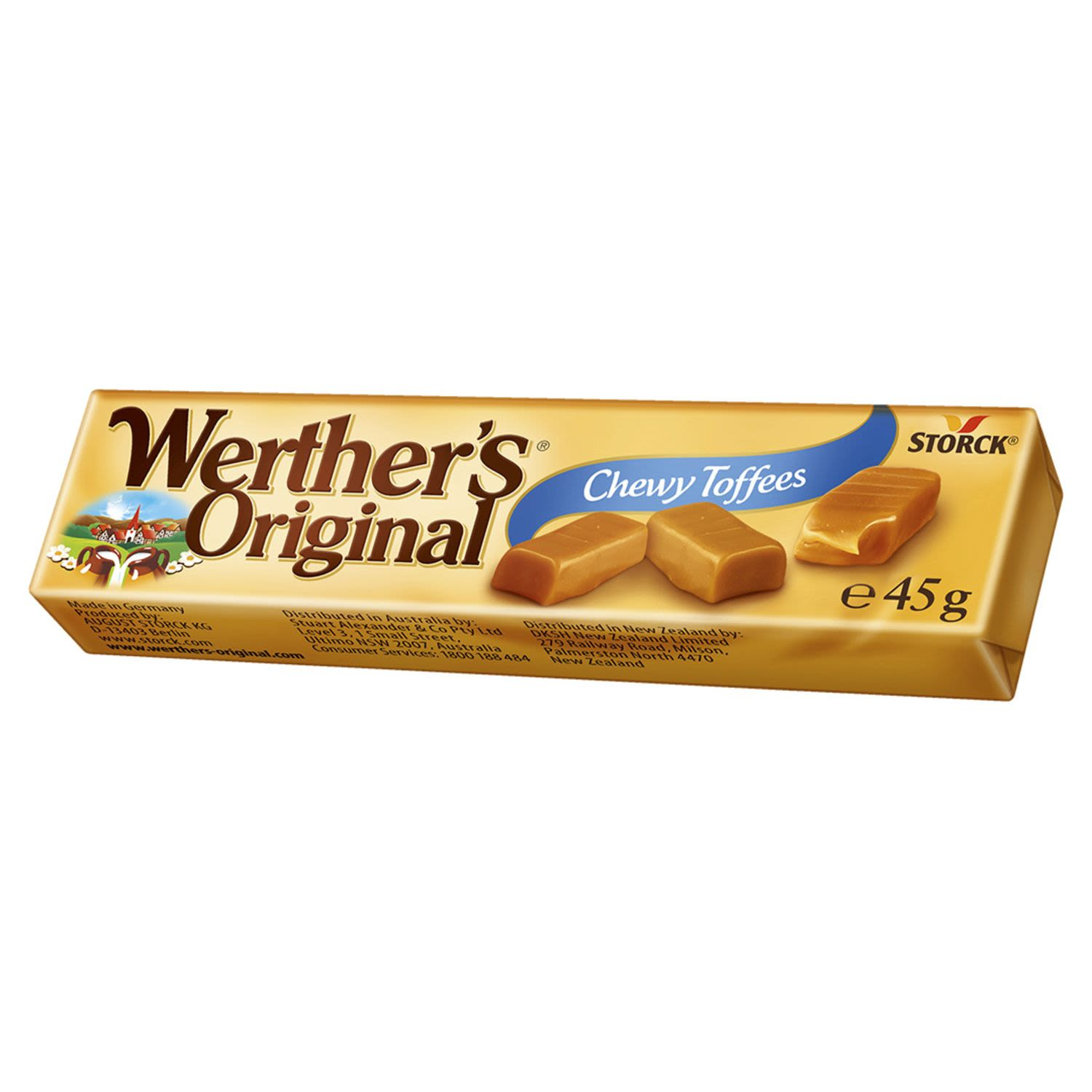 Werther's Original Chewy Toffees, 45 Gram