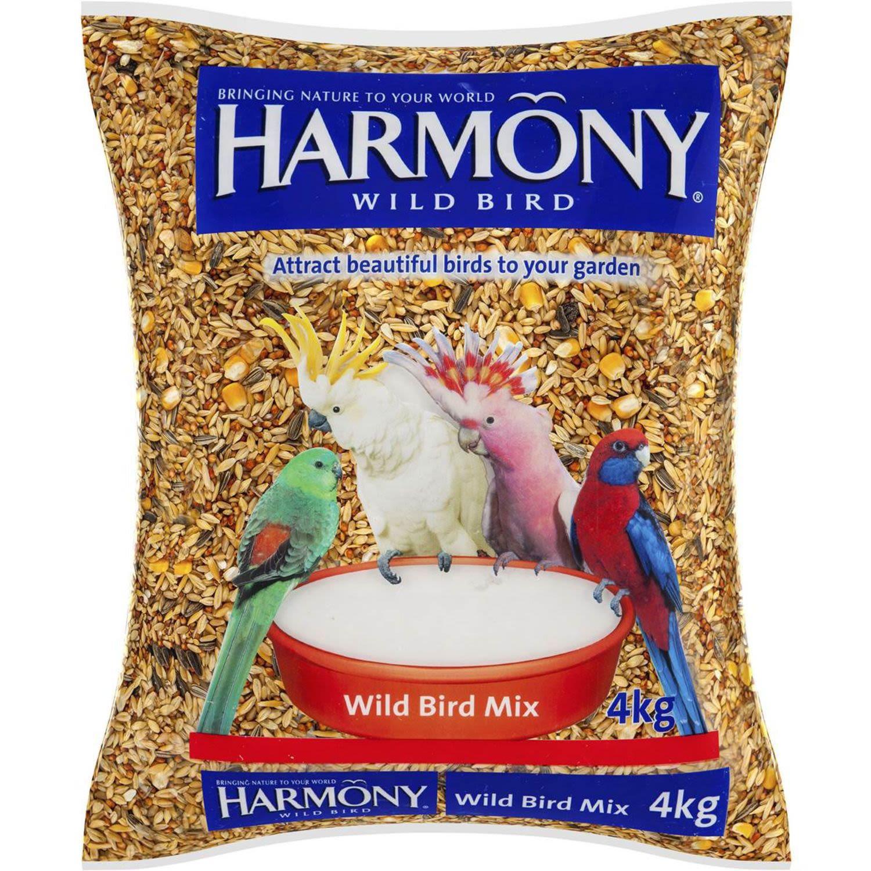 Harmony Bird Food Wild Bird Mix, 4 Kilogram