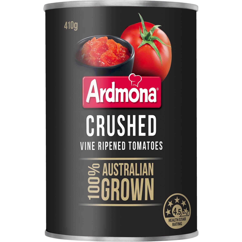 Ardmona Crushed Vine Ripened Tomatoes, 410 Gram