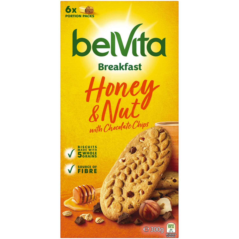 Belvita Breakfast Honey & Nut, 300 Gram