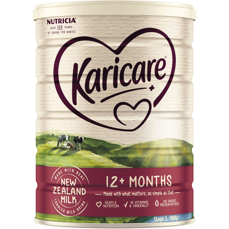 Karicare Plus 3 Milk for Toddlers 12+ Months, 900 Gram