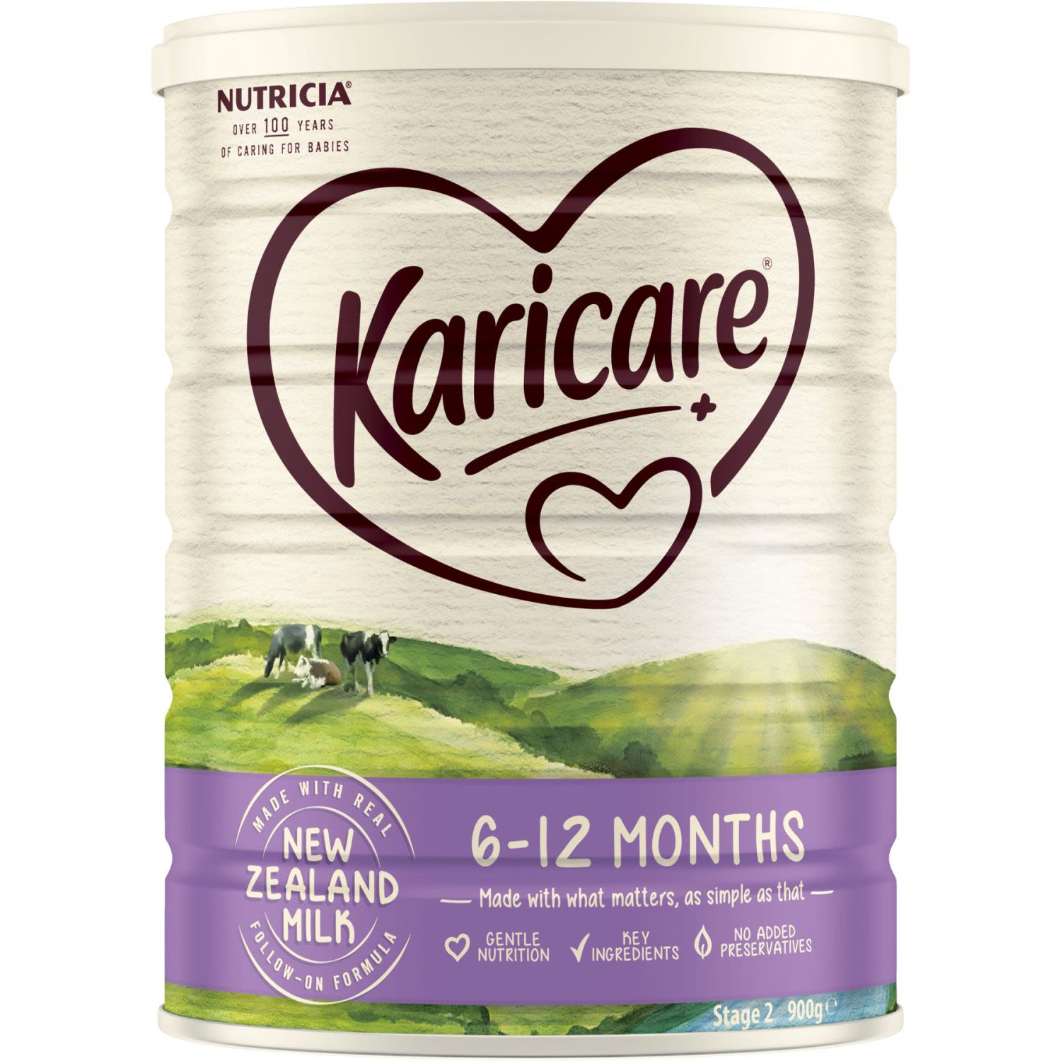 Karicare 2 Baby Follow-On Formula From 6-12 Months, 900 Gram