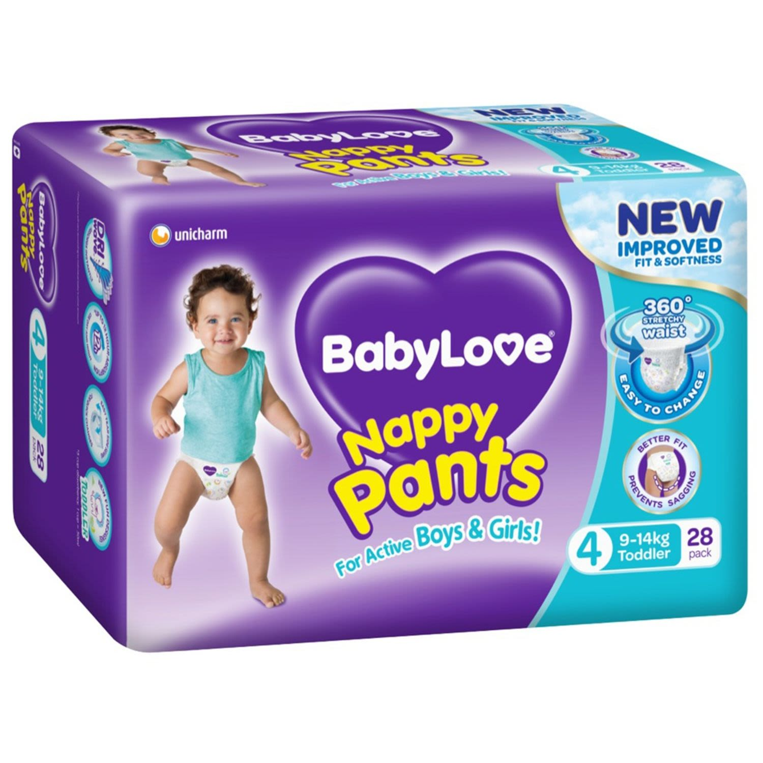 BabyLove Nappy Pants Junior, 22 Each