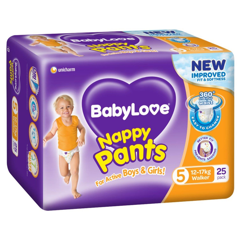 BabyLove Nappy Pants Walker, 25 Each