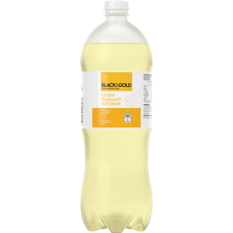 Black & Gold Lemon, 1.25 Litre