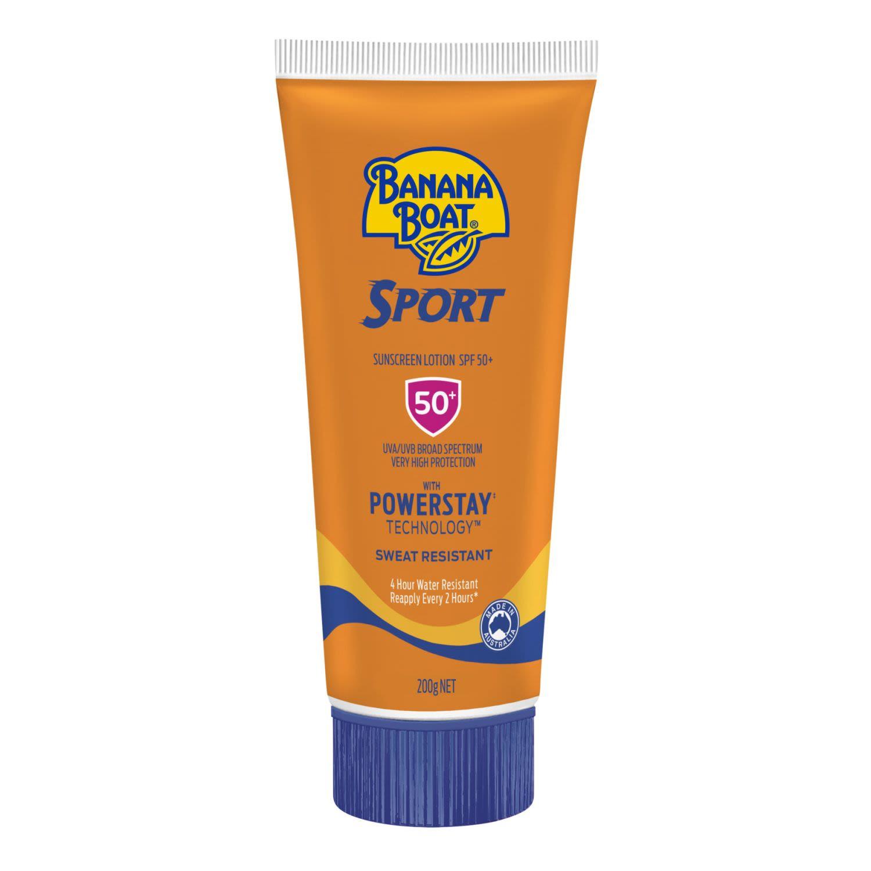 Banana Boat Sport Sunscreen Lotion SPF 50, 200 Gram